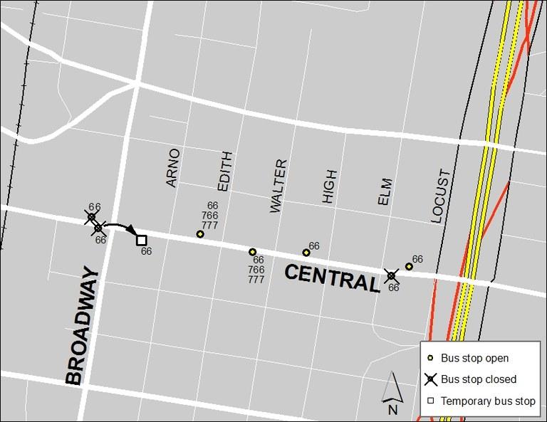 ABQ Ride Closure - Jan. 20: Broadway & Central