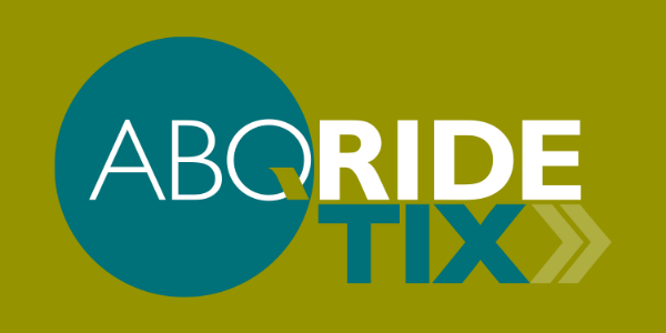 An image of the ABQRIDEtix app logo.