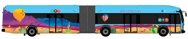 ART Bus-New Flyer-Balloon Design