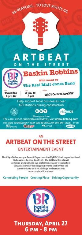 ARTBeat-Baskin Robbins-4-27-17