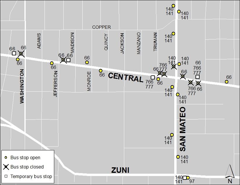 Central & San Mateo 3-28