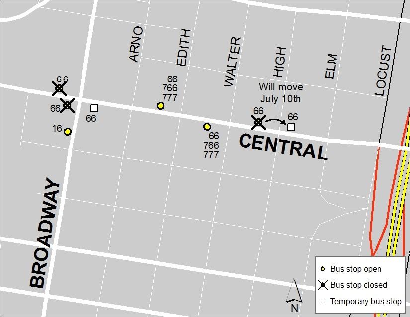 Central & Broadway 7-6 Update