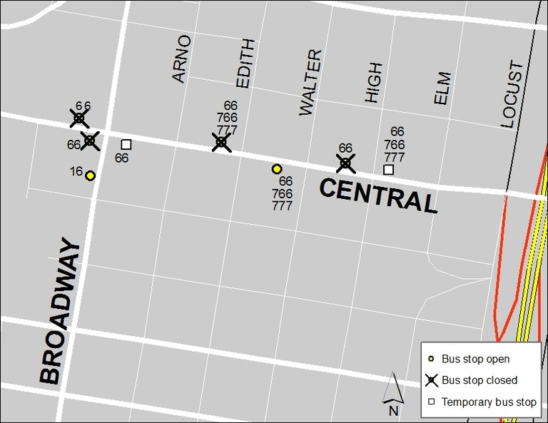 Central & Broadway: Aug. 14, 2017