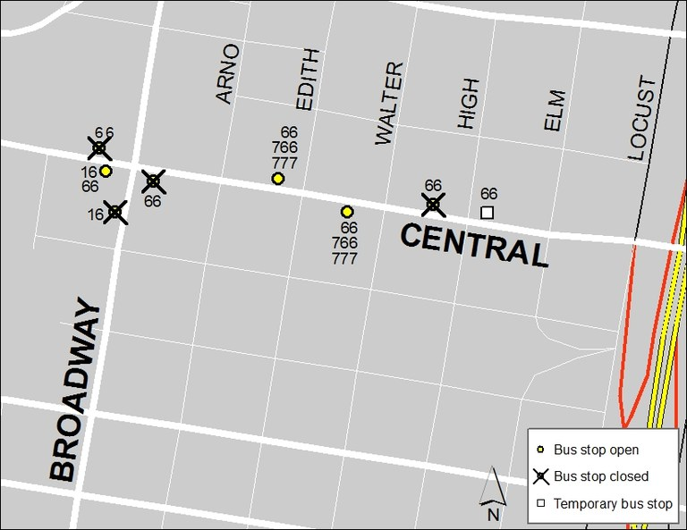 Central & Broadway: Sept. 14, 2017