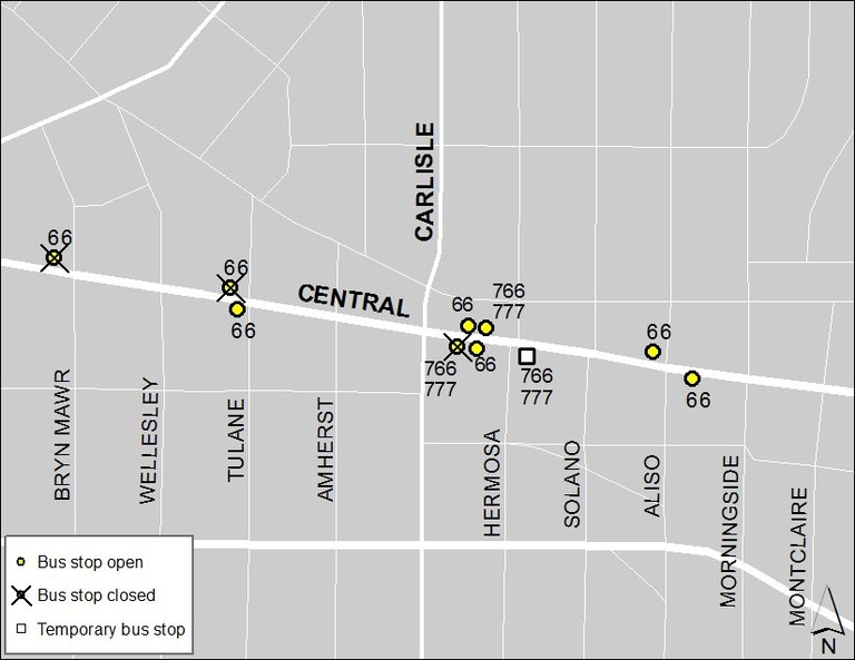 Central & Carlisle 3-10