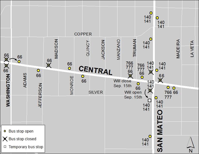 Central & San Mateo: Sept. 14, 2017