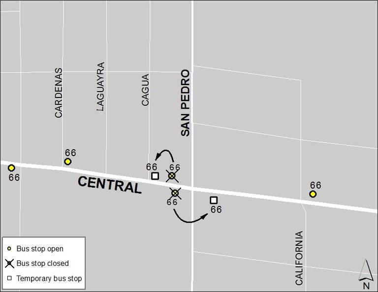 Central & San Pedro 2-2