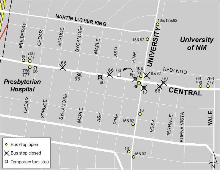 Central & University 3-30
