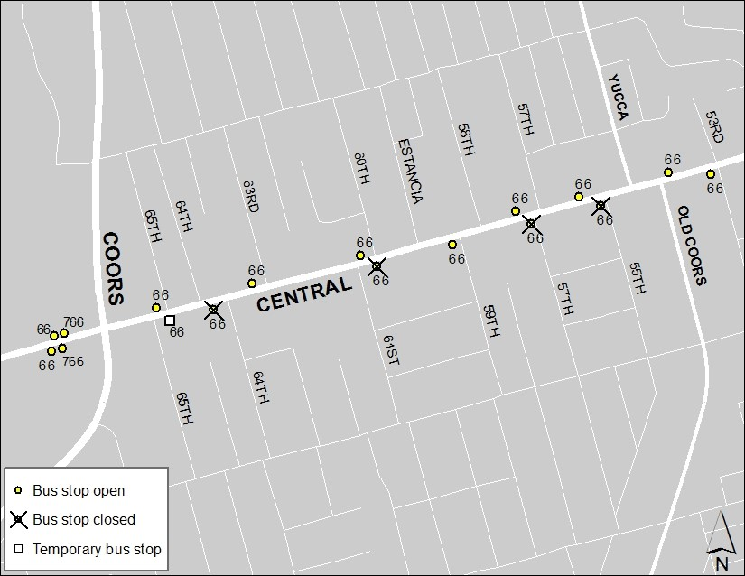 Central and Coors 2-23