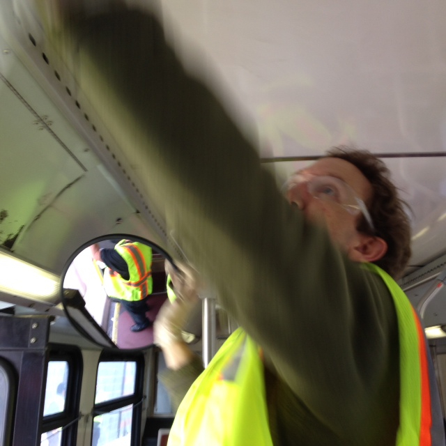 Cleaning Buses 3