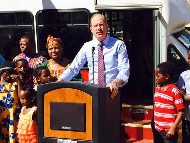 Sun Van Donated-Mayor