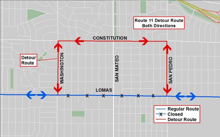 Detour Map - 11 to Constitution 2017 Pride Parade.jpg