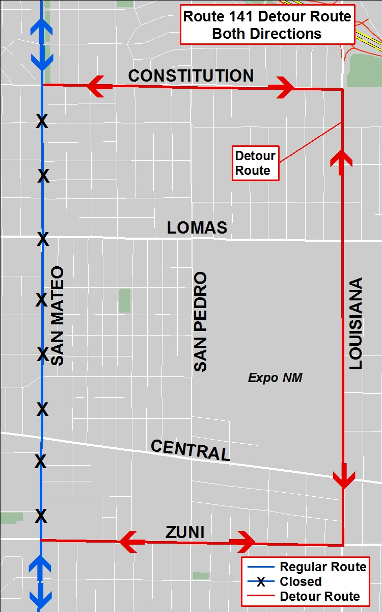 Detour Map - 141 to Louisiana 2017 Pride Parade.jpg