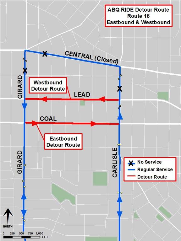 Detour Map-All Central Events-16-2019