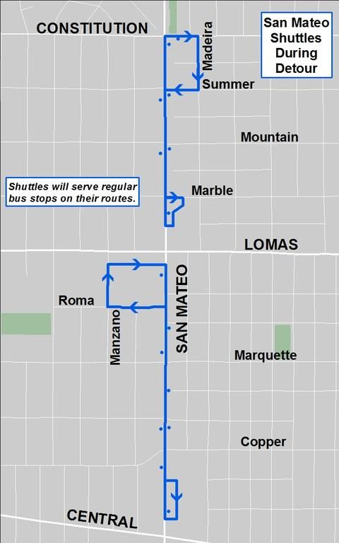 Detour Map - San Mateo shuttle 2017 Gay Pride parade.jpg