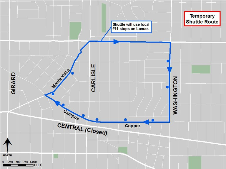 Detour on Central - Copper shuttle 2018.jpg