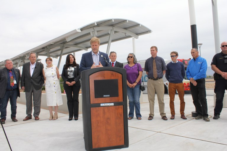 Mayor and Group at CUTC News Conference-5-7-19