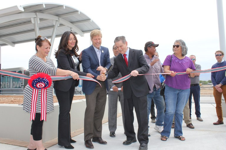 Ribbon Cutting at the CUTC-5-7-19