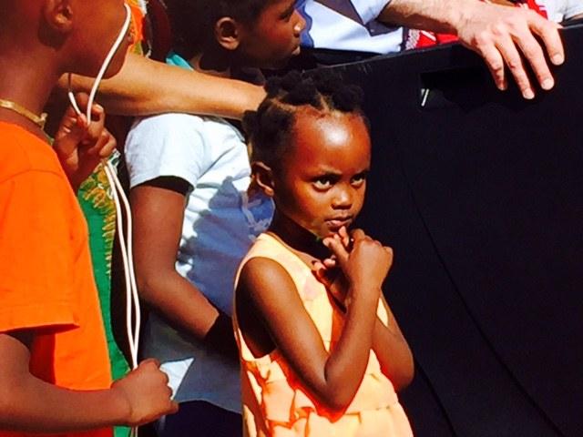 Sun Van Donated-Little Girl