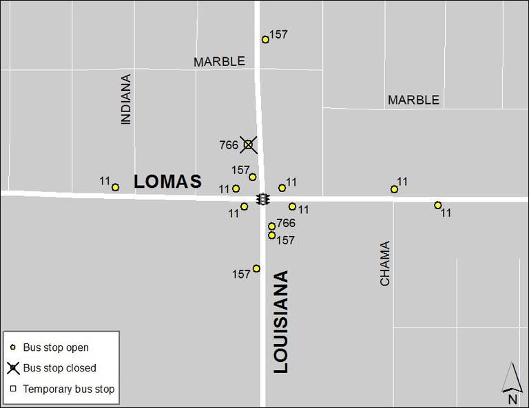 Lomas & Louisiana 2-2