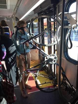 Interior Bus Stowage on ART