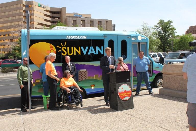 Sun Van News Conf. 6-6-18