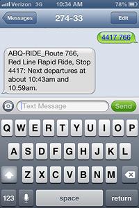 Text2Ride Screenshot