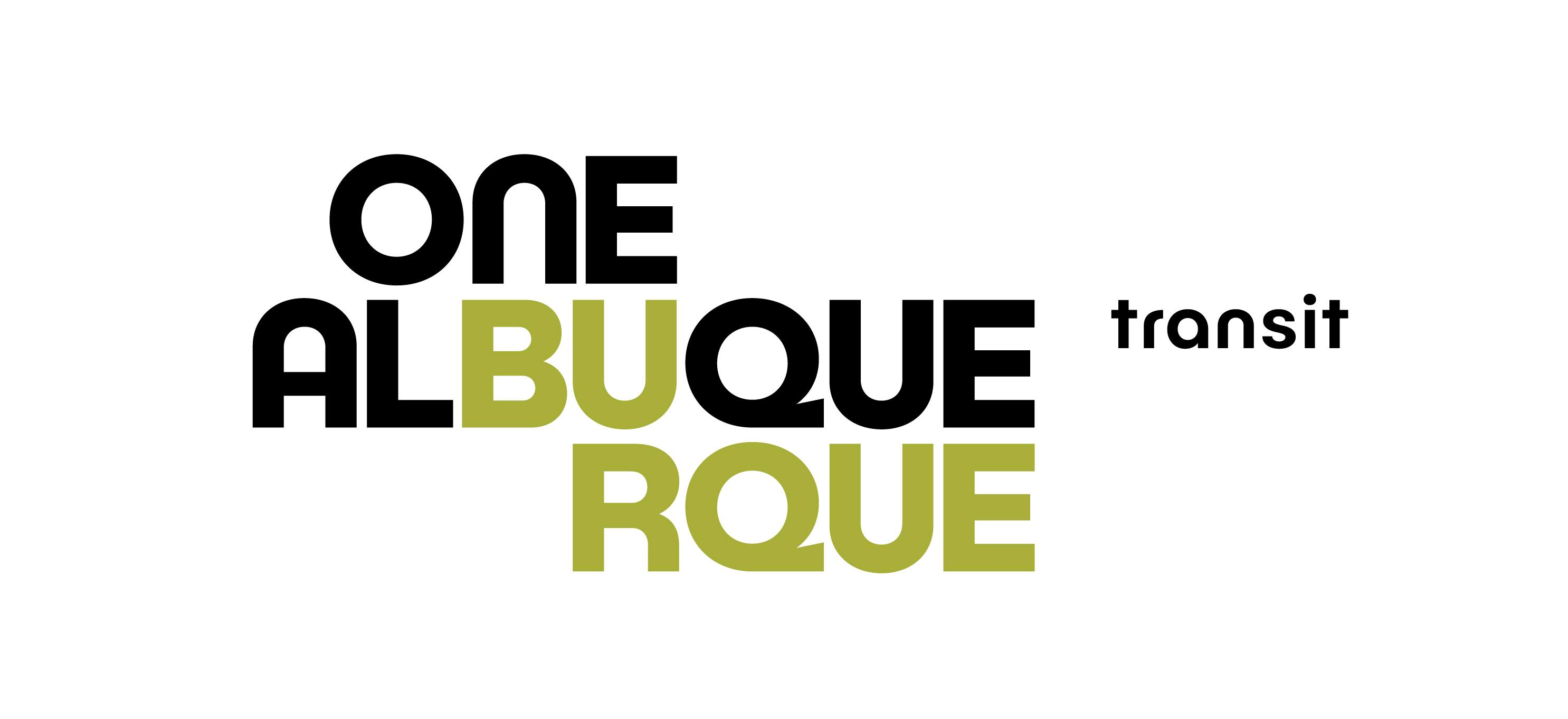 The One Albuquerque Transit Logo.