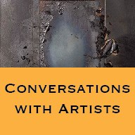 Button conversations with artists