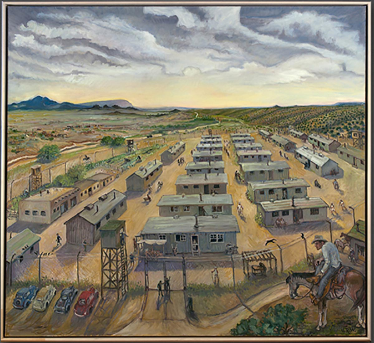 Jerry West, Japanese Internment Camp (Santa Fe)