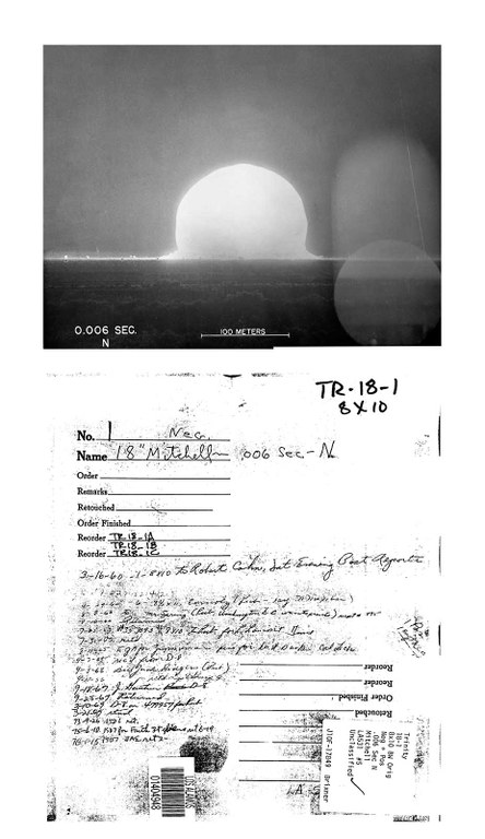 Mary Kavanagh, Selected Images from Trinity Archive, 1945-1946 [from Daughters of Uranium], 2019-2020