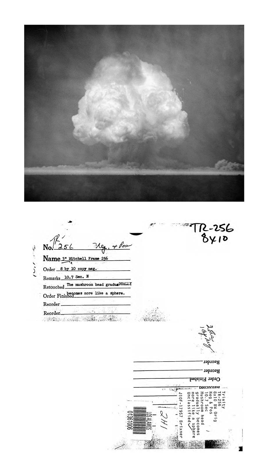 Mary Kavanagh, Selected Images from Trinity Archive, 1945-1946 [from Daughters of Uranium], 2019-2020 (3)