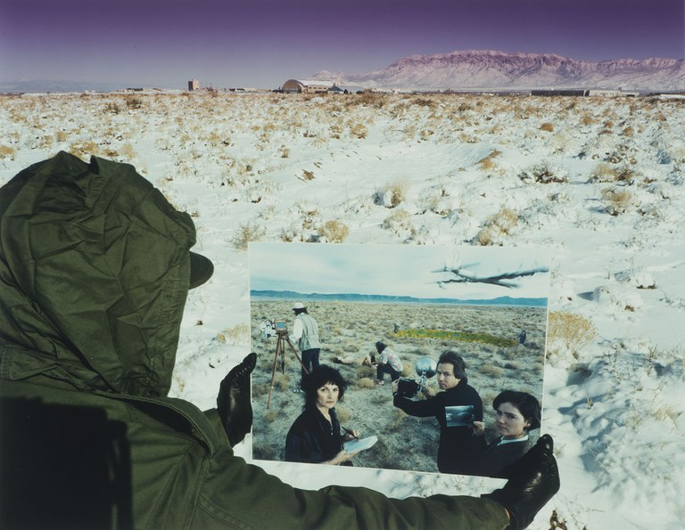 Patrick Nagatani, B-36/Mark 17 H-Bomb Accident (May 22, 1957), 5 1/4 miles South of Gibson Road, Albuquerque, New Mexico, 1991