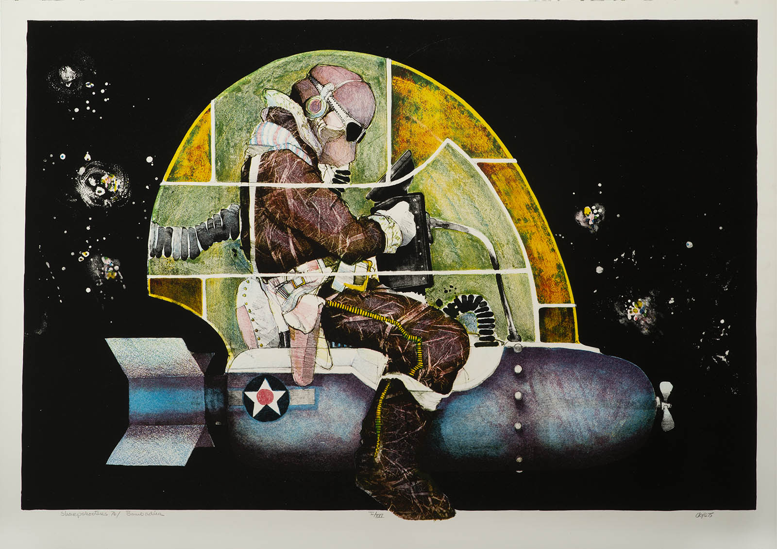 John L. Doyle, Bombardier (from the series: Sharpshooters 76), 1976