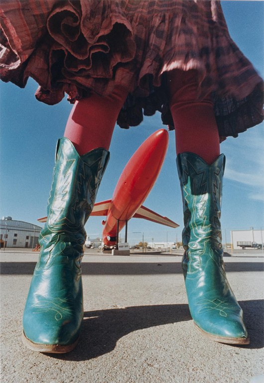 Anne Noggle, Vertical Stance (from the series: Earthbound), 1979