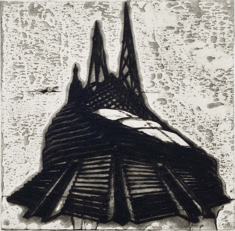 Nicola López, Ideal Structures for a Dubious Future (Pyramid Temple), 2012