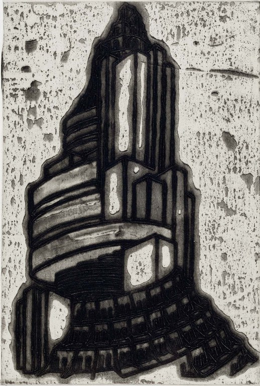 Nicola López, Ideal Structures for a Dubious Future  (Spiral Tower),  2012