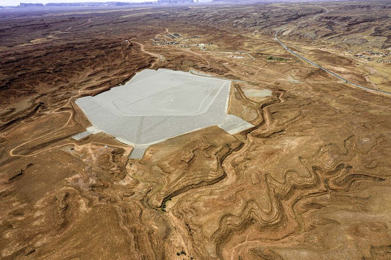 Will Wilson, Mexican Hat, Utah, Disposal Cell, 2019