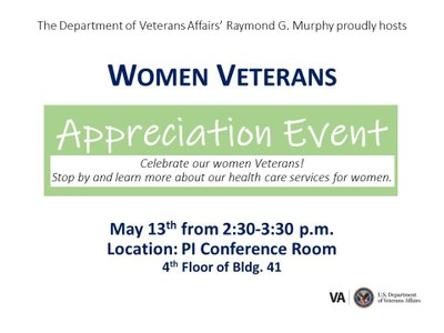 Women Veterans Appreciation Event