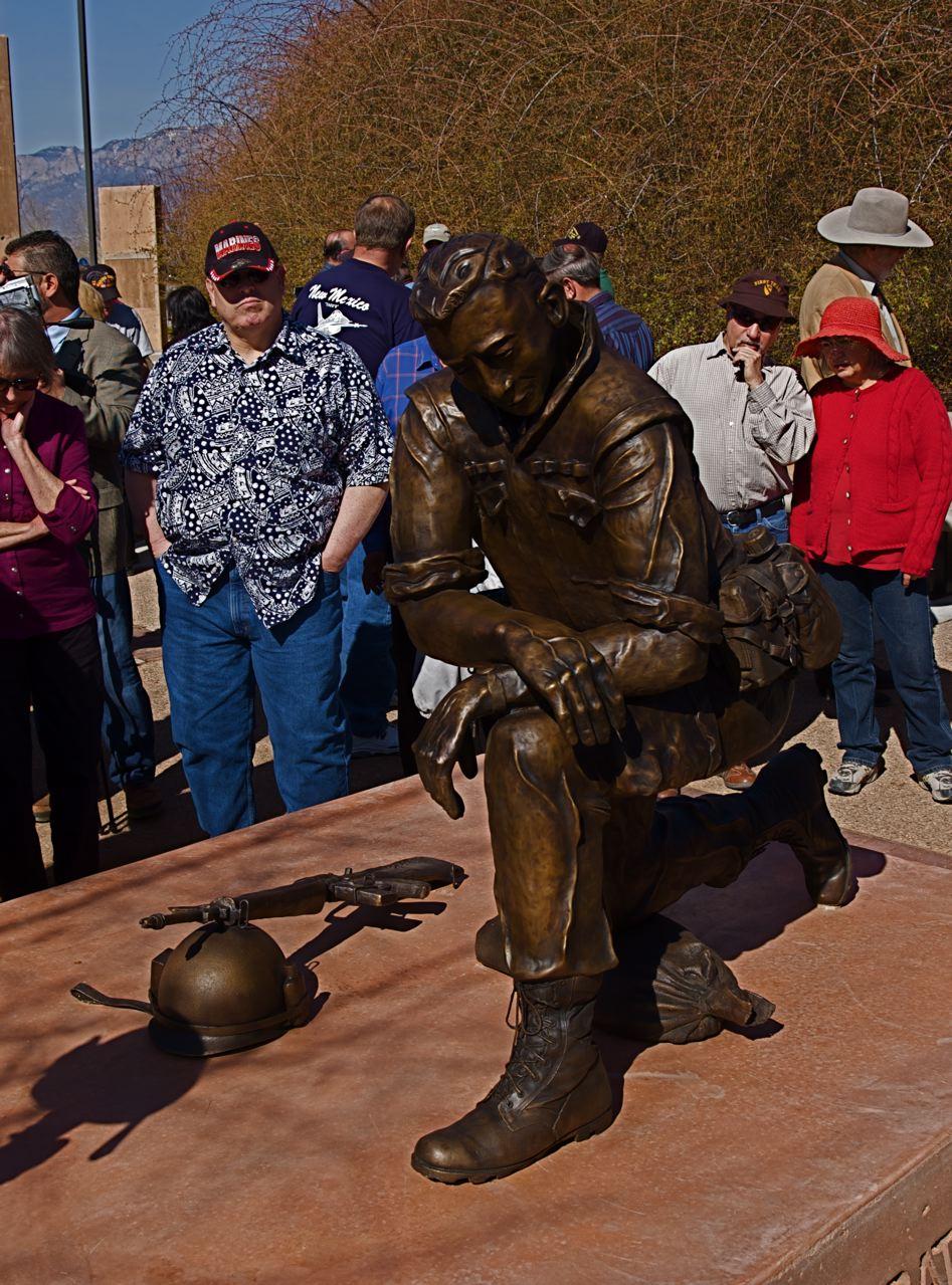 Vietnam Veterans Monument Dedication