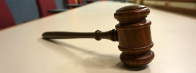 Photo of a gavel.