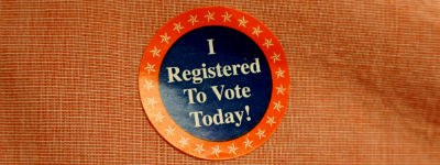 I Registered to Vote Sticker