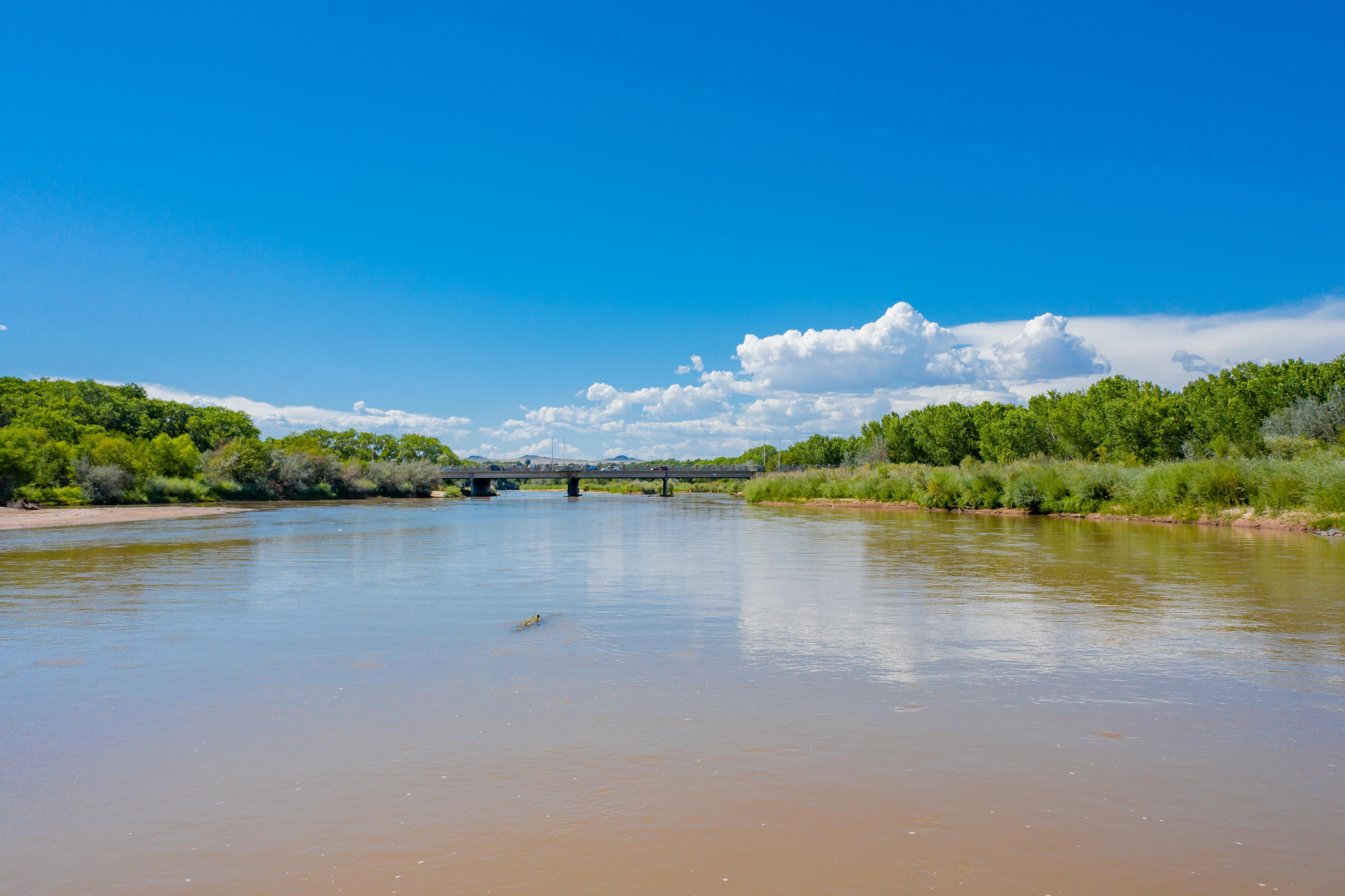 A photo of the Rio Grande.