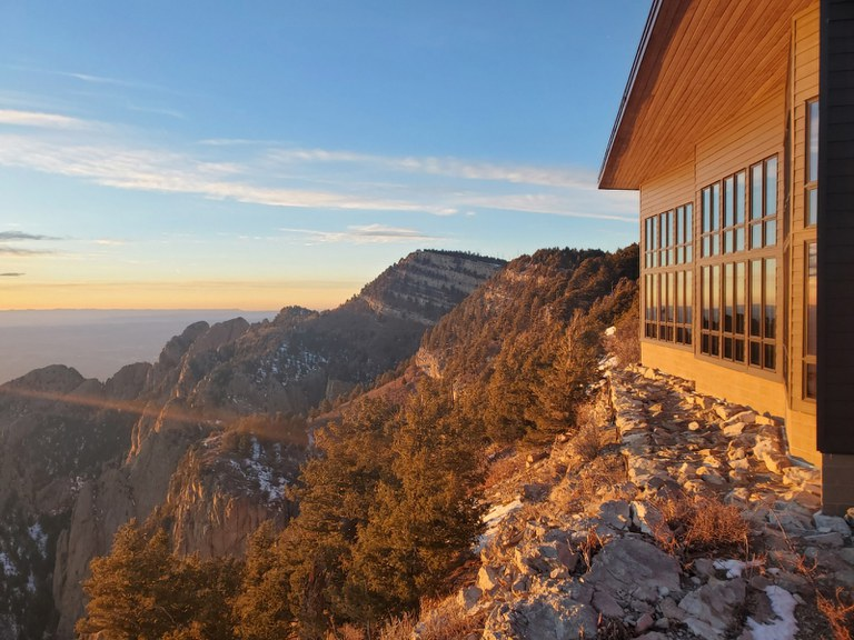 Doniel Mcphail, A Cold But Sunny Day on Sandia Mountains