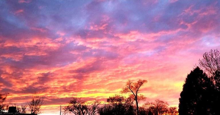 Mateo Santistevan, Morning Sky