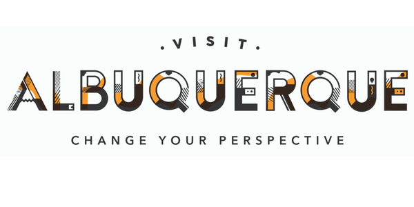 The Visit Albuquerque Logo