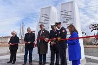 Mayor Keller and Albuquerque City Council Unveil 9/11 Memorial