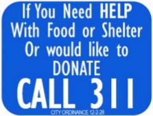 DonateABQ: N.M. DOT Sign