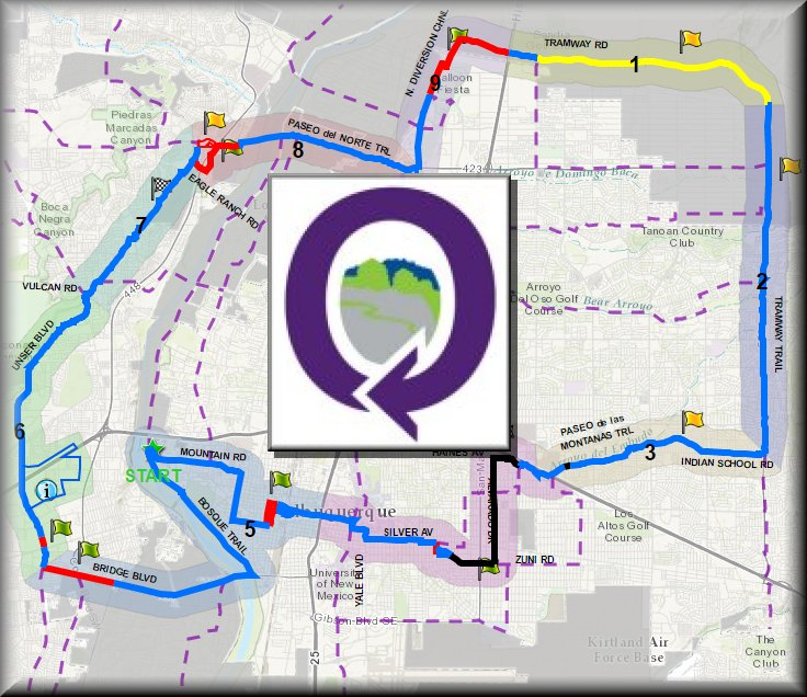 Image of the interactive 50-mile loop map hyperlink.