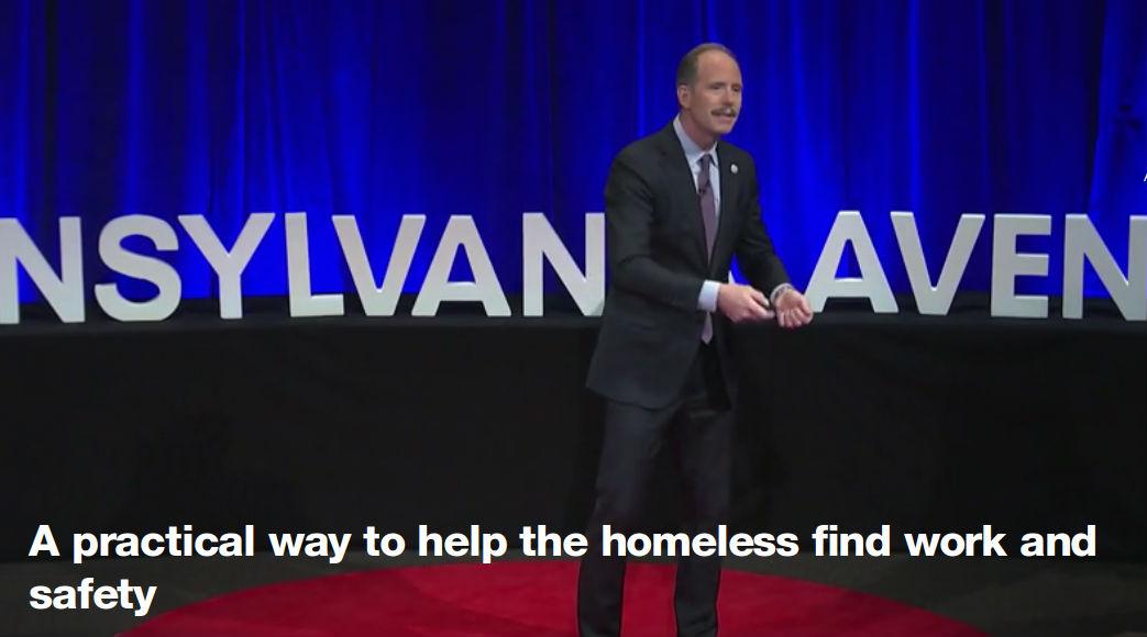 Mayor Berry TEDx - Screen Shot